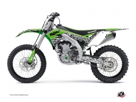 Kit Déco Moto Cross Predator Kawasaki 450 KXF Vert
