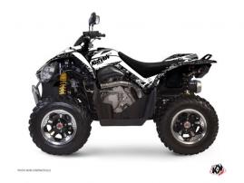 Kit Déco Quad Predator Kymco 450 MAXXER Blanc