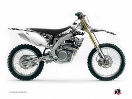 Suzuki 450 RMZ Dirt Bike Predator Graphic Kit White