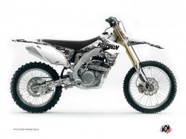 Kit Déco Moto Cross Predator Suzuki 450 RMZ Blanc