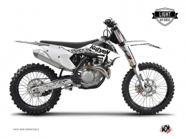 Kit Déco Moto Cross Predator KTM 450 SXF Blanc LIGHT