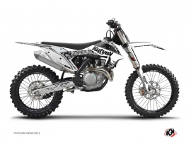 Kit Déco Moto Cross Predator KTM 450 SXF Blanc