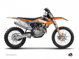 Kit Déco Moto Cross Predator KTM 450 SXF Orange