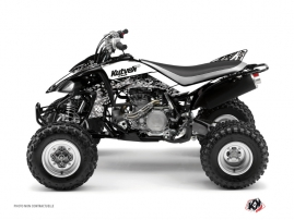 Yamaha 450 YFZ ATV Predator Graphic Kit White