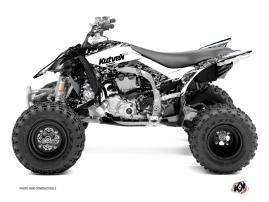 Kit Déco Quad Predator Yamaha 450 YFZ R Blanc