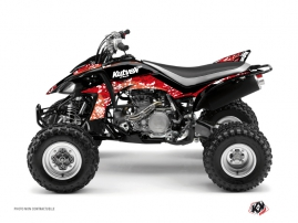 Yamaha 450 YFZ ATV Predator Graphic Kit Red