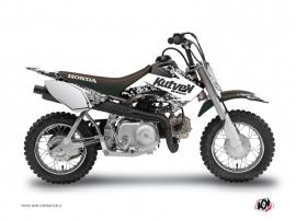 Kit Déco Moto Cross Predator Honda 50 CRF Blanc