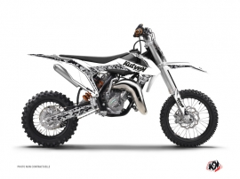 Kit Déco Moto Cross Predator KTM 50 SX Blanc