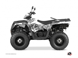 Kit Déco Quad Predator Polaris 570 Sportsman Forest Blanc