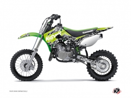 Kit Déco Moto Cross Predator Kawasaki 65 KX Vert