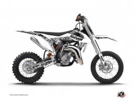 Kit Déco Moto Cross Predator KTM 65 SX Blanc