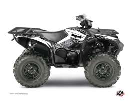 Yamaha 700-708 Grizzly ATV Predator Graphic Kit White