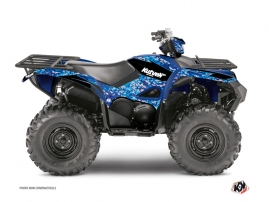 Yamaha 700-708 Grizzly ATV Predator Graphic Kit Blue