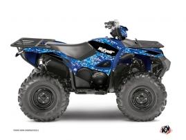 Kit Déco Quad Predator Yamaha 700-708 Grizzly Bleu
