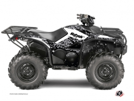 Yamaha 700-708 Kodiak ATV Predator Graphic Kit White