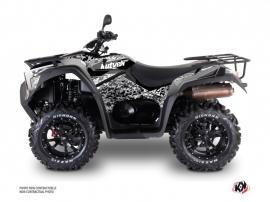 Kit Déco Quad Predator Kymco 700 MXU Gris