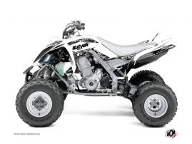 Kit Déco Quad Predator Yamaha 700 Raptor Blanc