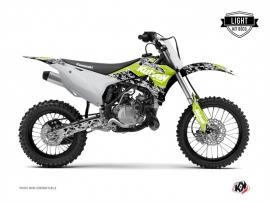 Kit Déco Moto Cross Predator Kawasaki 85 KX Vert LIGHT