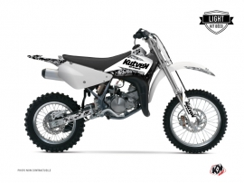 Suzuki 85 RM Dirt Bike Predator Graphic Kit White LIGHT
