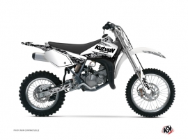 Kit Déco Moto Cross Predator Suzuki 85 RM Blanc