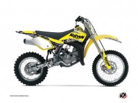 Kit Déco Moto Cross Predator Suzuki 85 RM Jaune