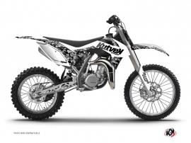 KTM 85 SX Dirt Bike Predator Graphic Kit White