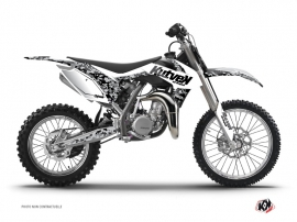 Kit Déco Moto Cross Predator KTM 85 SX Blanc