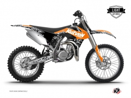 Kit Déco Moto Cross Predator KTM 85 SX Orange LIGHT