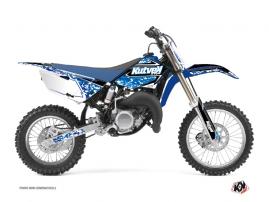 Kit Déco Moto Cross Predator Yamaha 85 YZ Bleu