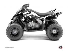 Kit Déco Quad Predator Yamaha 90 Raptor Blanc