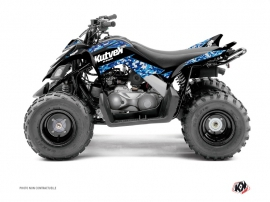 Kit Déco Quad Predator Yamaha 90 Raptor Bleu