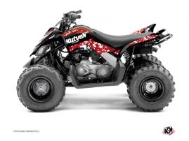 Kit Déco Quad Predator Yamaha 90 Raptor Rouge
