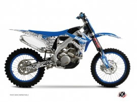 Kit Déco Moto Cross Predator TM EN 125 Bleu