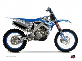 Kit Déco Moto Cross Predator TM MX 250 FI Bleu