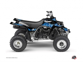 Yamaha Banshee ATV Predator Graphic Kit Blue