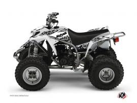 Kit Déco Quad Predator Yamaha Blaster Blanc