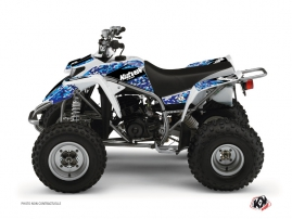 Yamaha Blaster ATV Predator Graphic Kit Blue