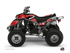Yamaha Blaster ATV Predator Graphic Kit Red