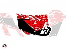 Kit Déco Portes Suicide Blingstar Predator Can Am Commander 2011-2017 Rouge