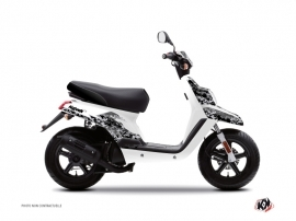 MBK Booster Scooter Predator Graphic Kit White