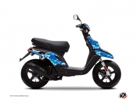 Kit Déco Scooter Predator MBK Booster Bleu