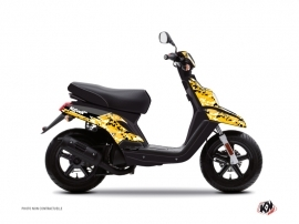 MBK Booster Scooter Predator Graphic Kit Black Yellow