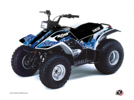 Yamaha Breeze ATV Predator Graphic Kit Blue