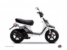 Yamaha BWS Scooter Predator Graphic Kit White