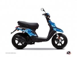 Yamaha BWS Scooter Predator Graphic Kit Blue