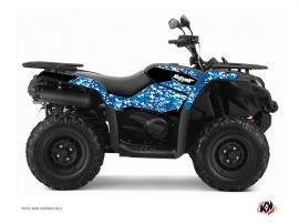 Kit Déco Quad Predator CF Moto CFORCE 450 S Bleu