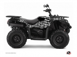 CF MOTO CFORCE 520 S ATV Predator Graphic Kit Black