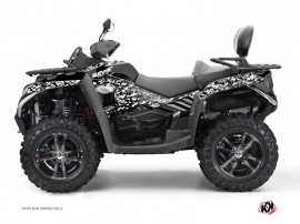 CF MOTO CFORCE 800 S ATV Predator Graphic Kit Black