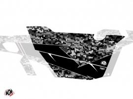 Kit Déco Portes Cabine Defender Predator Can Am Commander 2011-2017 Noir