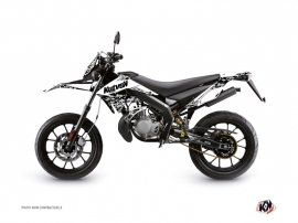 Kit Déco 50cc Predator Derbi DRD Xtreme Blanc